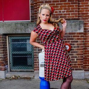 Candie's Polka dot dress